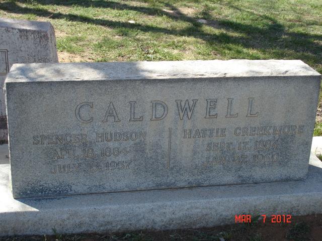 Hattie <i>Creekmore</i> Caldwell
