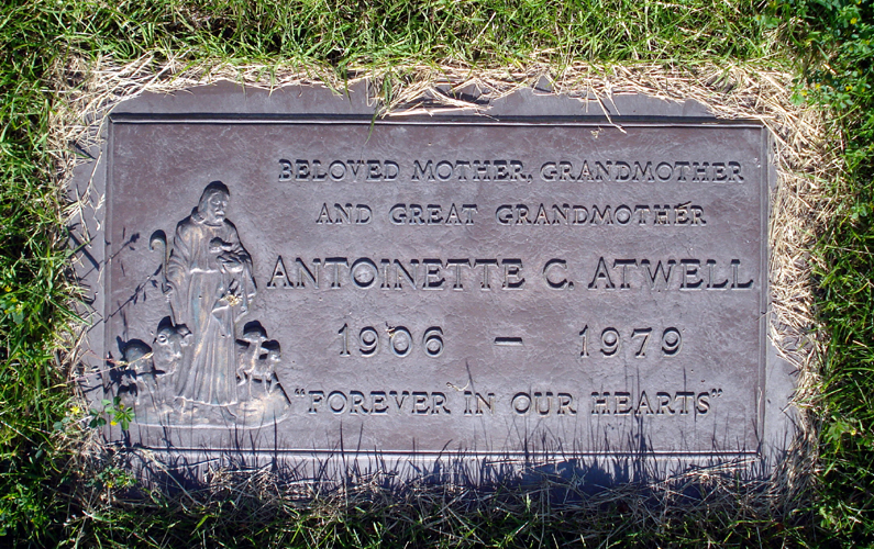 Antoinette Carroll <i>Coombs</i> Atwell