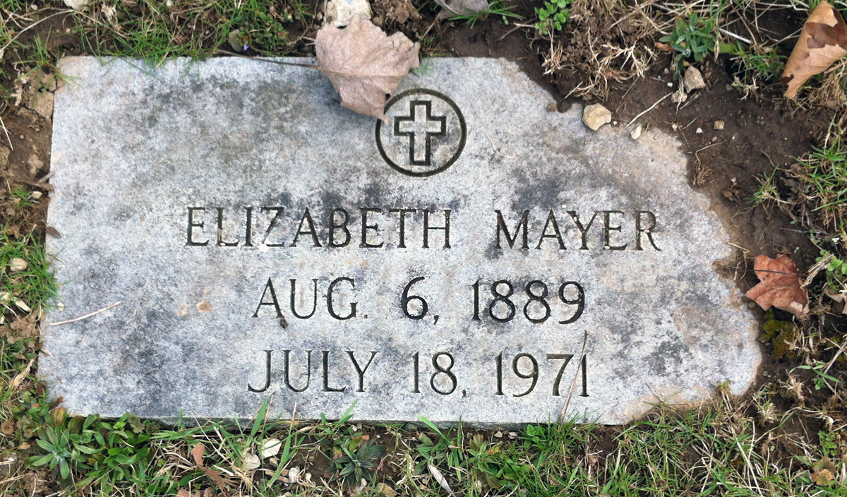 Mary Elizabeth <i>Moshier</i> Mayer