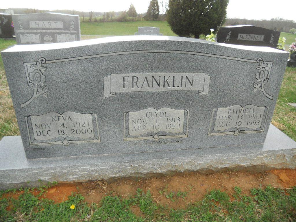 Neva Elizabeth <i>Coffey</i> Franklin