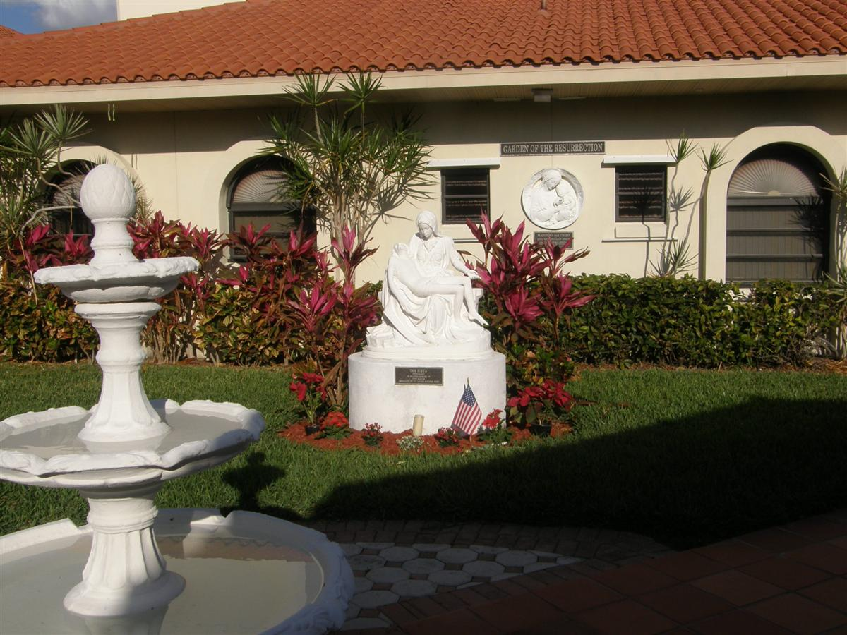 Our Lady of Lourdes Garden of the Resurrection in Venice, Florida ...