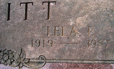 Lela Pearl <i>Stone</i> Moffitt