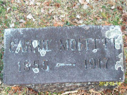 Caroline Carrie <i>Moffett</i> Allen