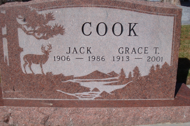 Grace Truman <i>Mitchell</i> Cook