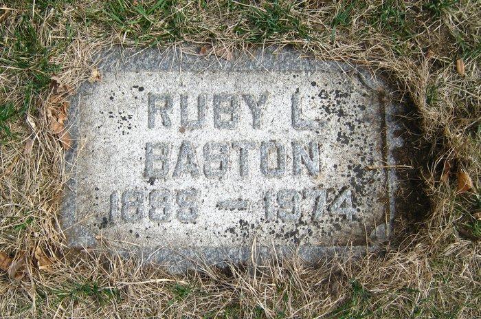 Ruby Harmon <i>Laird</i> Baston