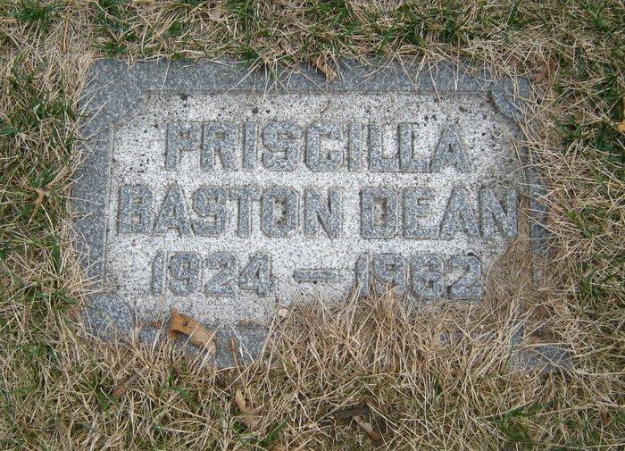 Priscilla <i>Baston</i> Dean