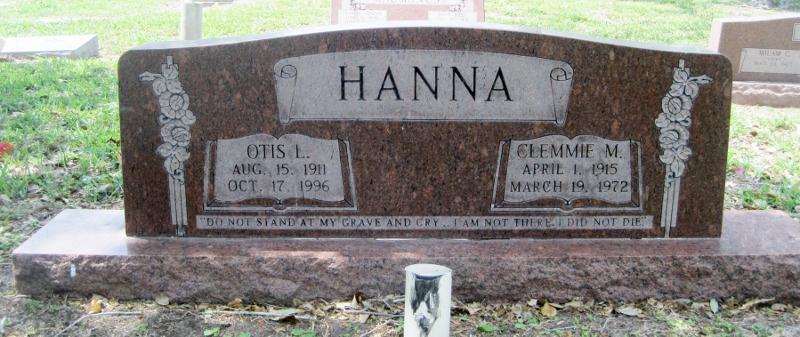 Clemmie M. <i>Leftwich</i> Hanna