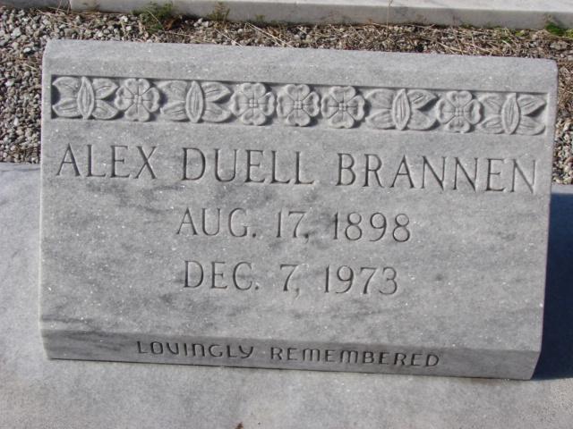 Alex Duell Brannen