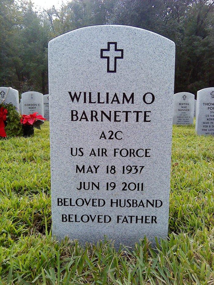 AMN William Ottis Billie Barnette