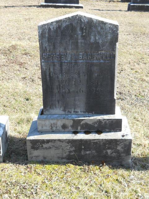 Betsey A <i>Bardwell</i> Hill