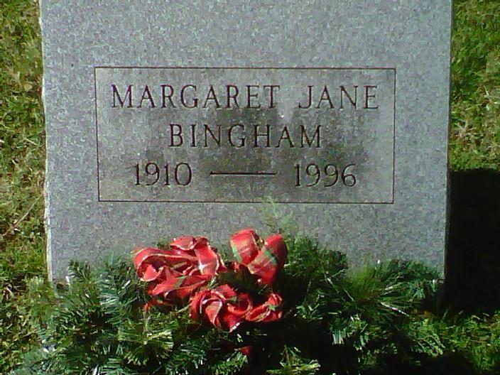 Margaret Jane Bingham