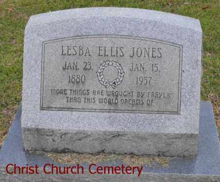 Lesba <i>Ellis</i> Jones
