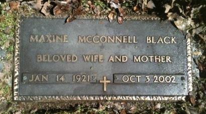 Maxine <i>McConnell</i> Black