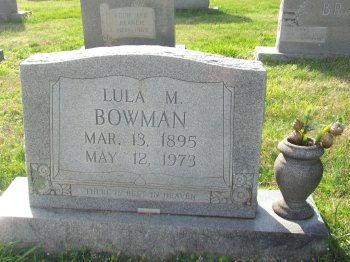 Lula M. <i>Johnson</i> Bowman