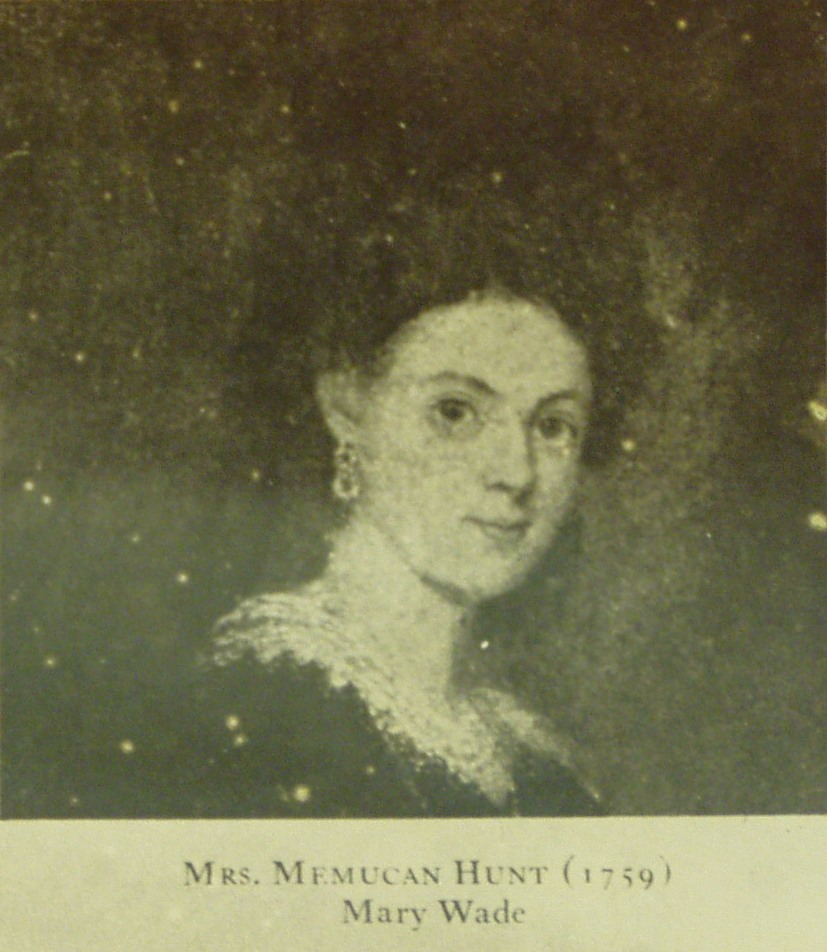 Mary Polly <i>Wade</i> Hunt