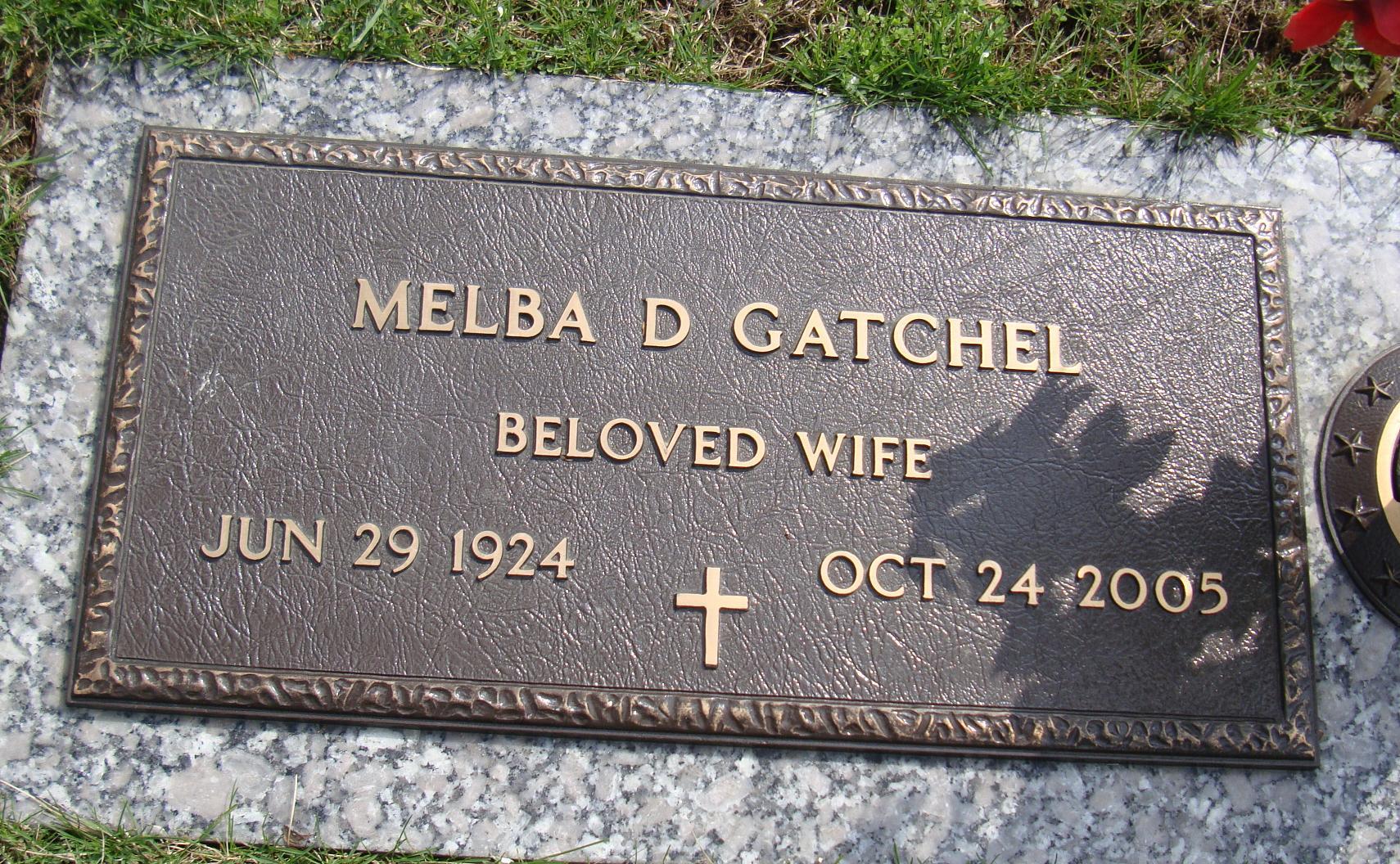 Melba Deloris <i>Bitzel</i> Gatchel