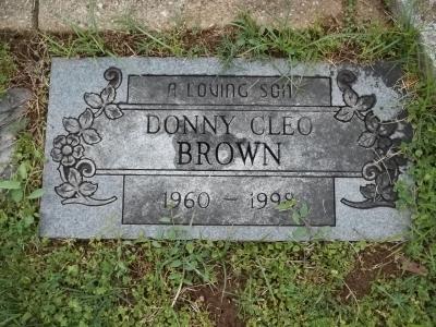 Donny Cleo Brown