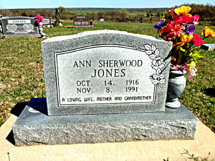 Ann Sherwood <i>Cravens</i> Jones
