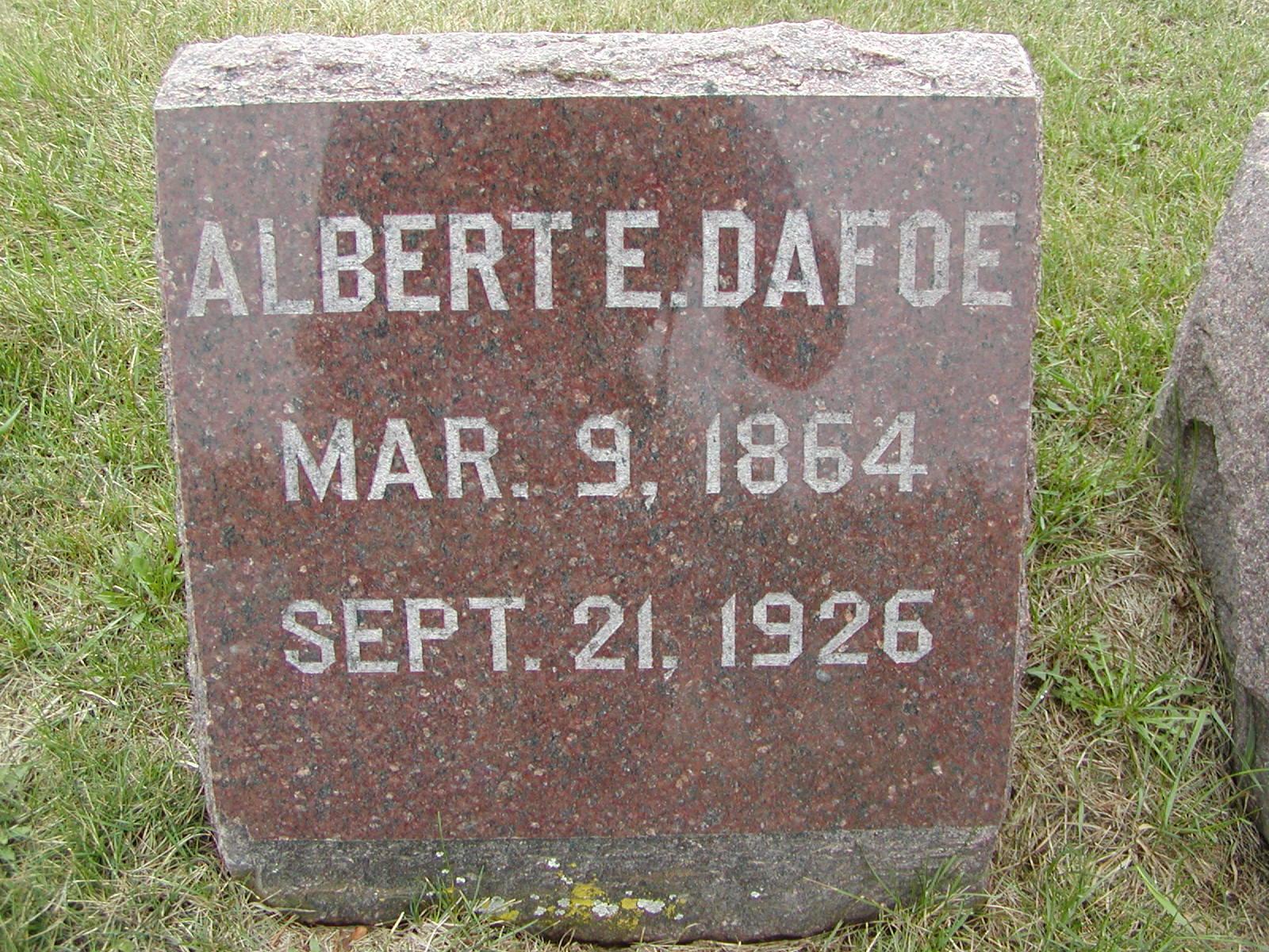 Albert Edward Dafoe