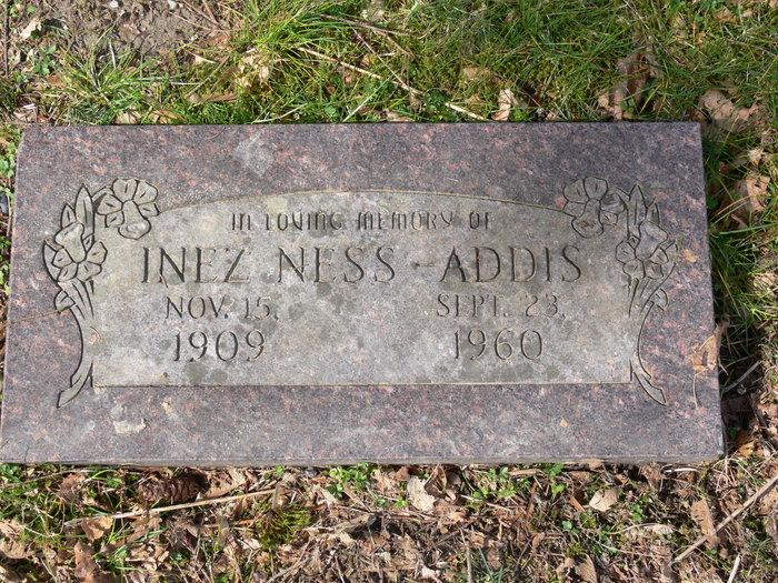 Inez <i>Ness</i> Addis