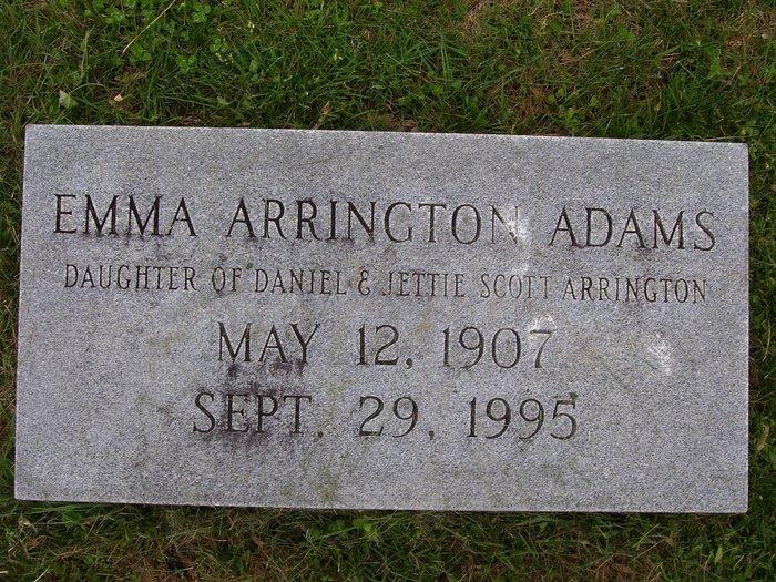 Emma Eliza <i>Arrington</i> Adams