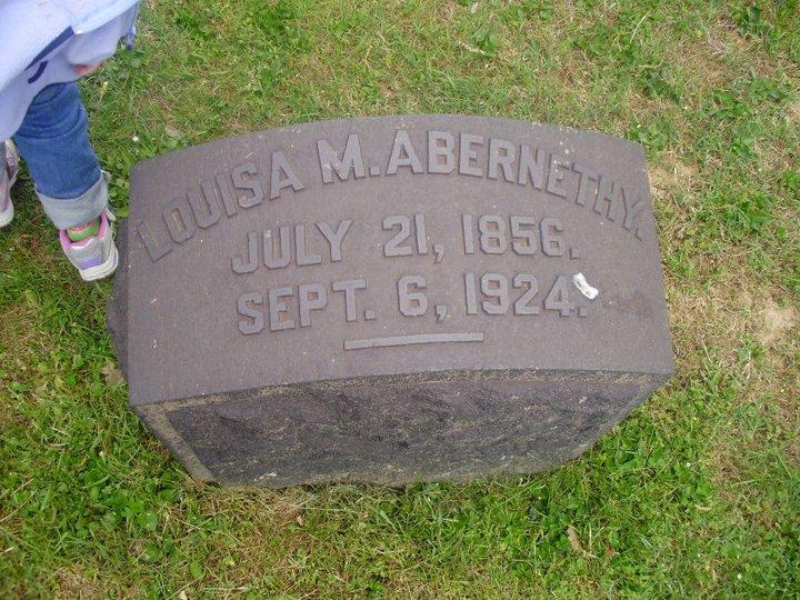 Louisa Maxwell Abernethy