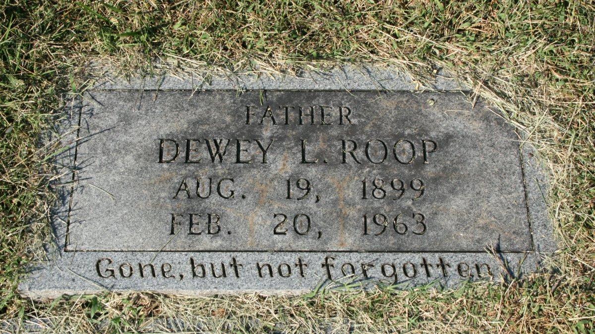 Dewey L Roop