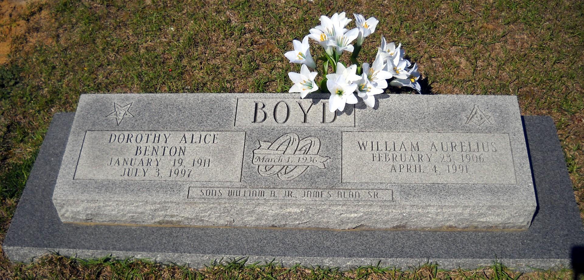 William Aurelius Boyd, Sr