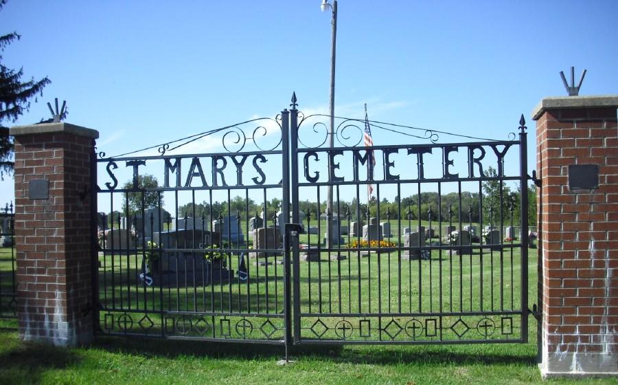Saint Marys Newport Catholic Cemetery