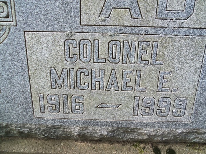 Col Michael E. Adams