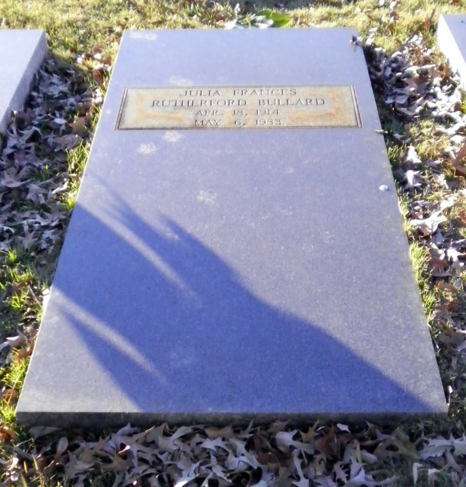 Julia Frances <i>Rutherford</i> Bullard