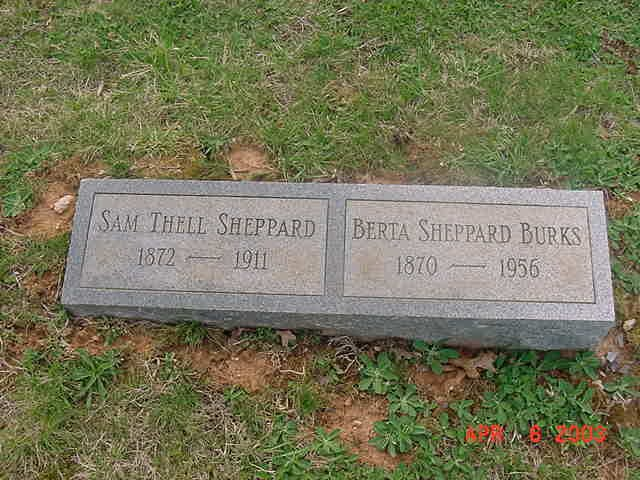 Berta <i>Sheppard</i> Burks