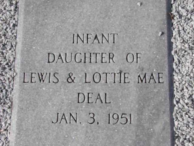 Infant Daughter Deal