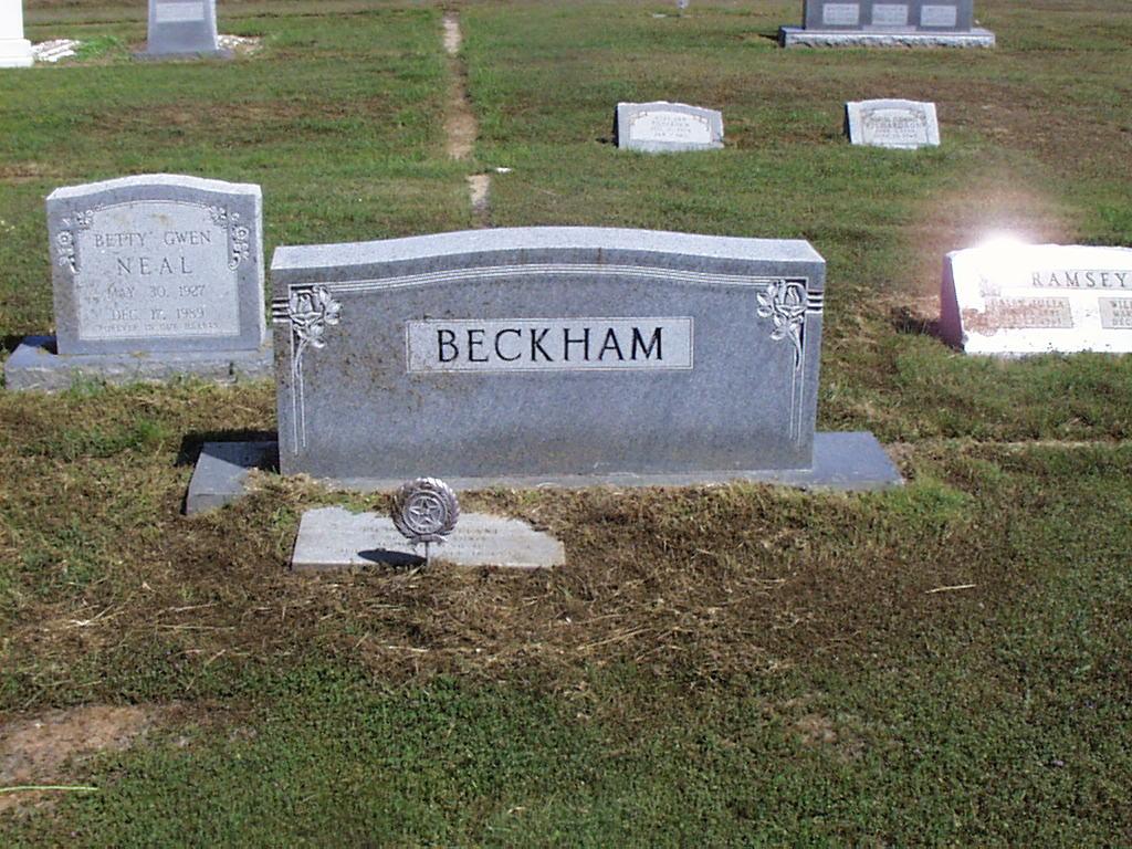 Donald Eugene Beckham, Sr