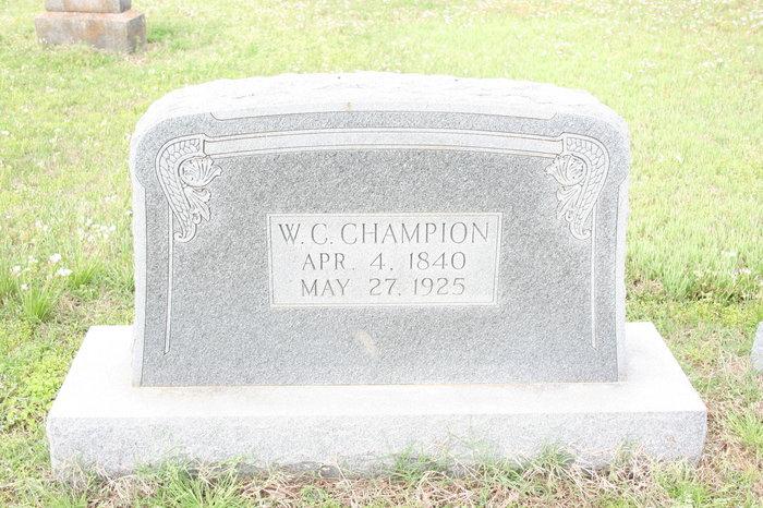 William Charles Champion