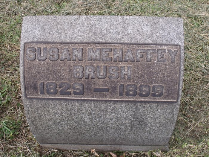 Susan <i>Mehaffey</i> Brush