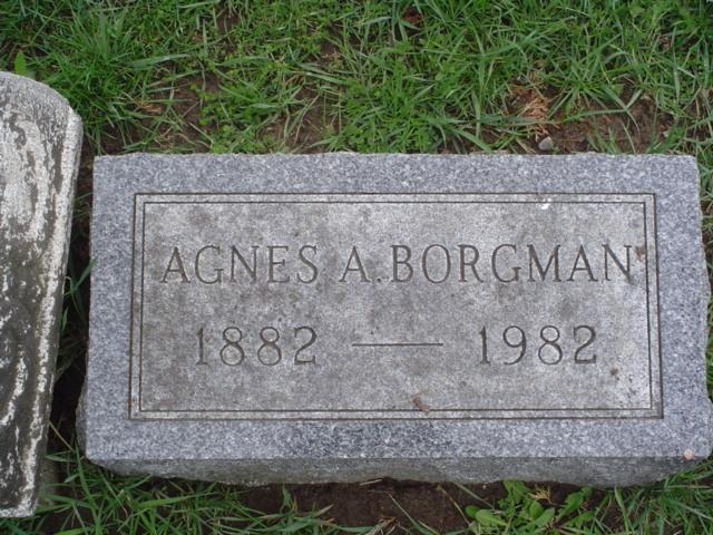 Agnes A <i>Schumann</i> Borgman