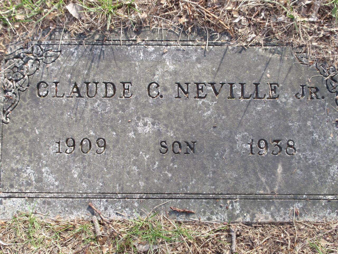 Claude C. Neville, Jr.