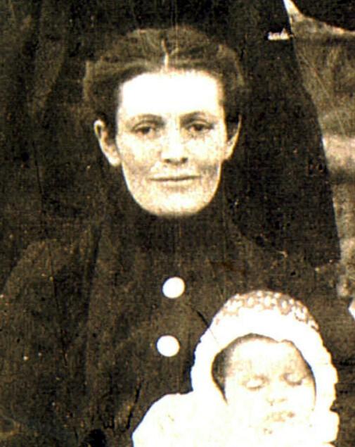 Nellie Harriett Lillian <i>Stratton</i> Hart, Anderson