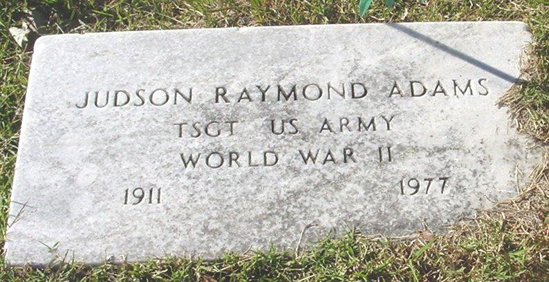 Judson Raymond Adams