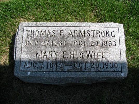 Thomas E Armstrong