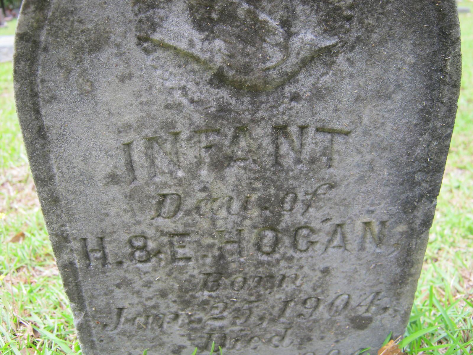Infant Daughter Hogans