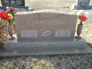 Ruth Emma <i>Lane</i> Christenson