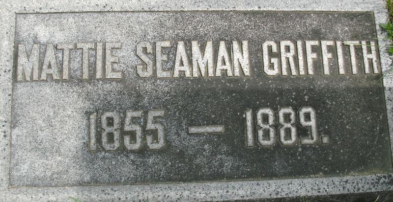 Mattie Seaman Griffith