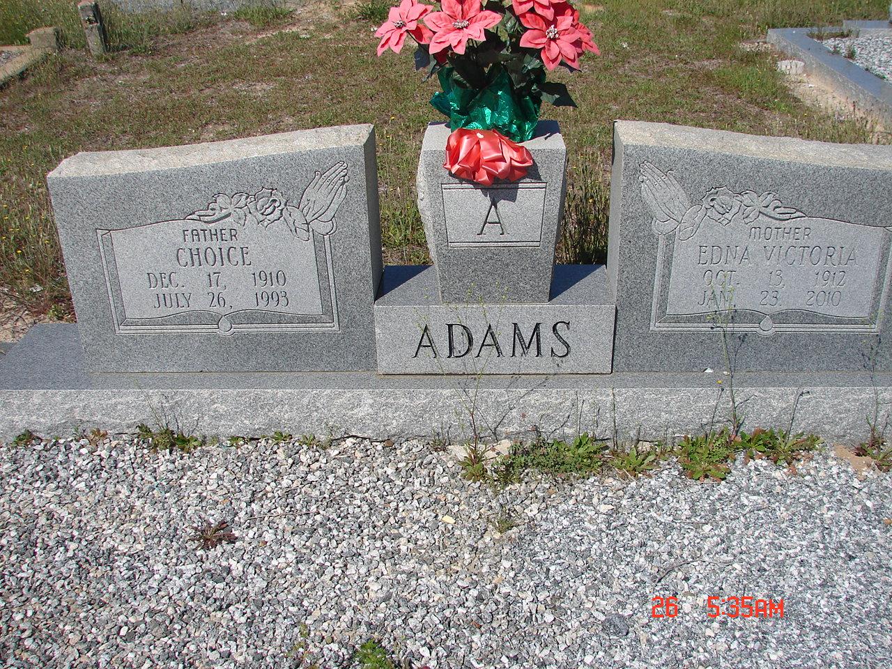 Choice Adams