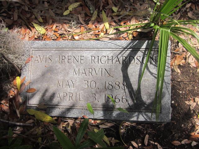 Avis Irene <i>Richardson</i> Marvin
