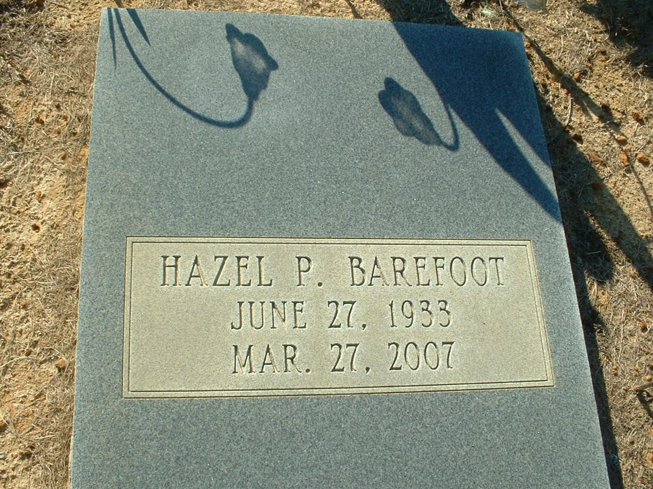 Hazel <i>Powell</i> Barefoot