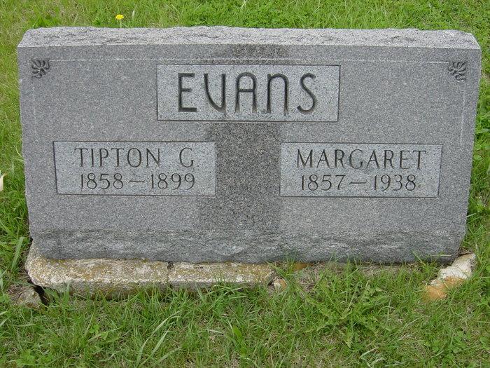 Margaret <i>King</i> Evans