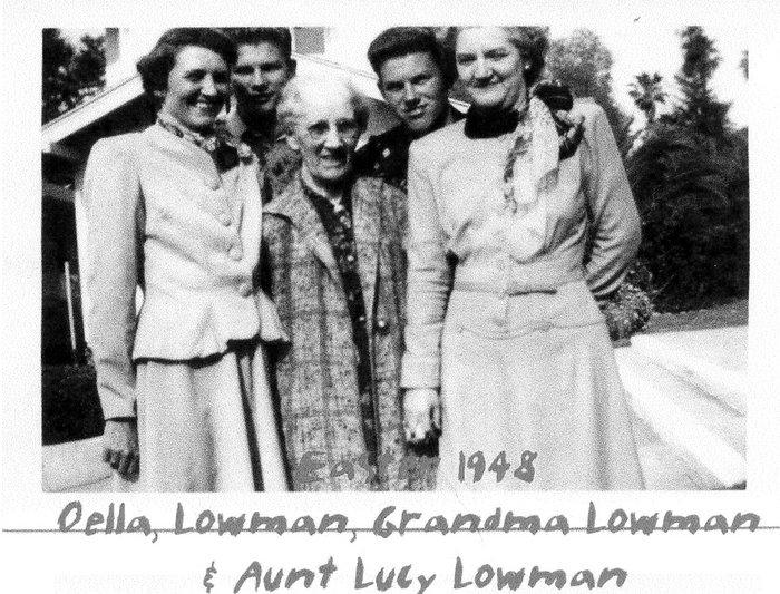 Oella <i>Tappan</i> Lowman