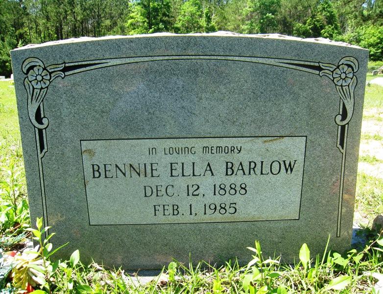 Bennie Ella <i>Hanks</i> Barlow